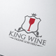 King Wine Logo - GraphicRiver Item for Sale