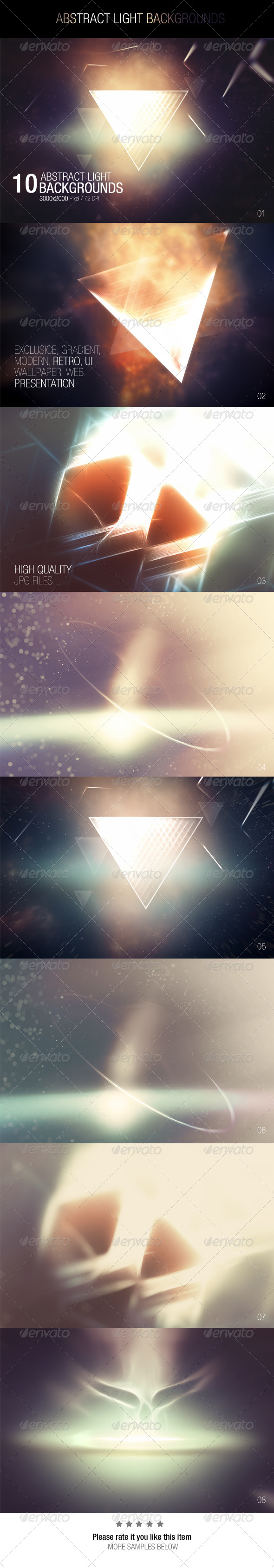 GraphicRiver Abstract Light Backgrounds 7590840