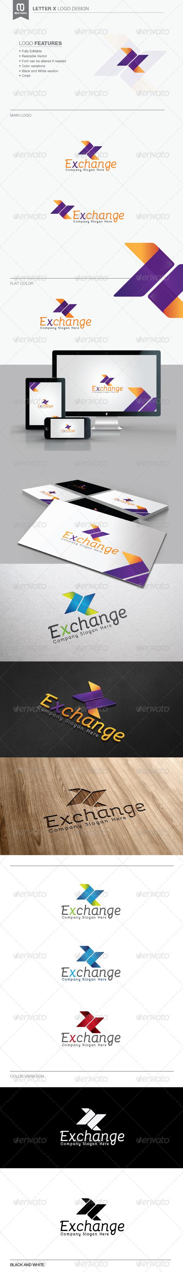GraphicRiver Letter X Logo 7591867
