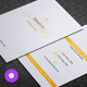 Minimal Business Card 022 - GraphicRiver Item for Sale