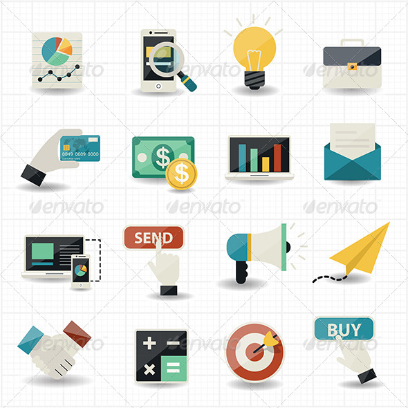 GraphicRiver Online Shopping Commerce and Marketing 7592653