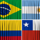 South America Curtain Open  - VideoHive Item for Sale