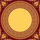 Traditional Vintage Gold Greek Ornament  - GraphicRiver Item for Sale