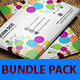 Colorful Business Card Bundle Pack - GraphicRiver Item for Sale