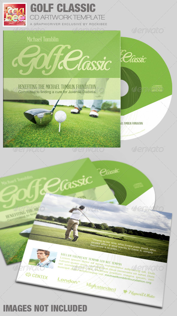GraphicRiver Golf Classic CD Artwork Template 7594701