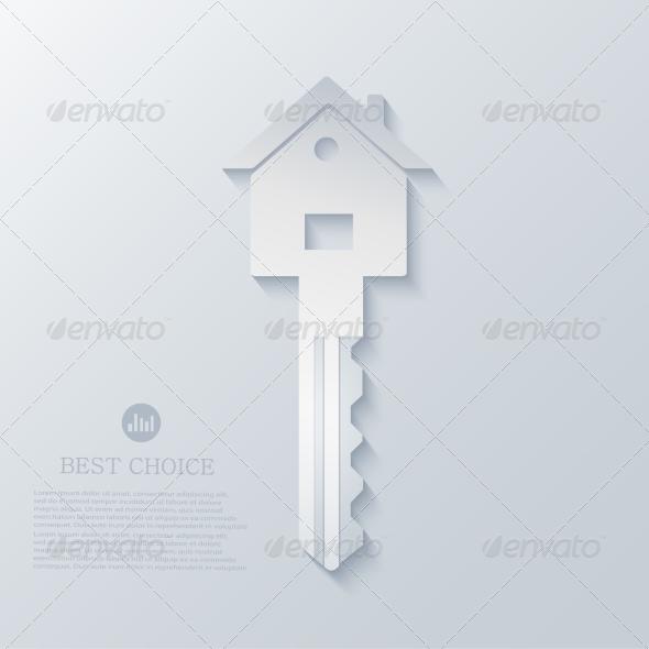 GraphicRiver Real Estate Icon Background 7595372