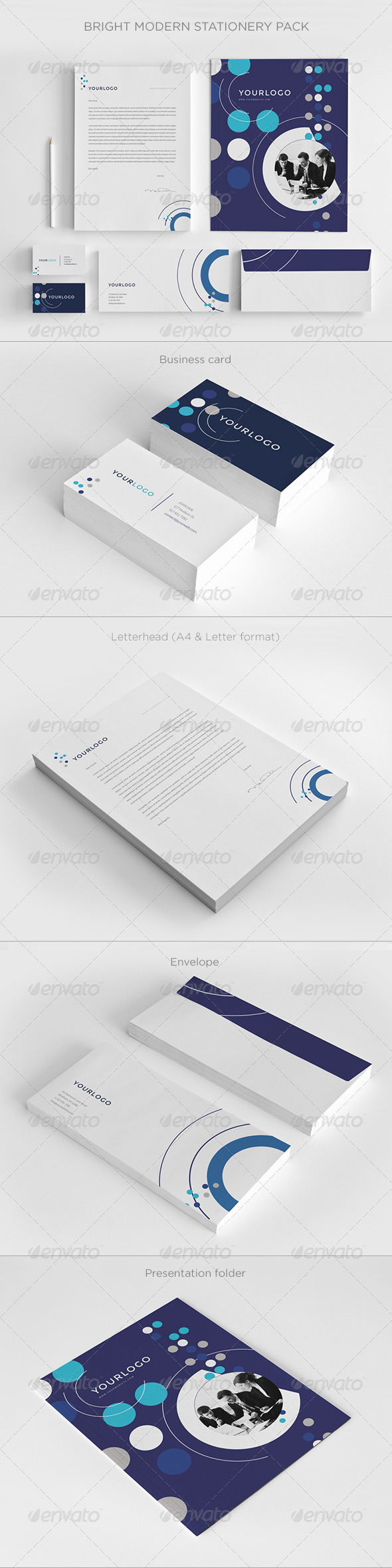 GraphicRiver Business Stationery Pack 7596132