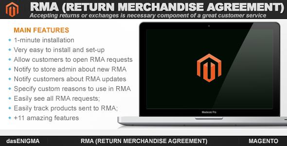 CodeCanyon RMA for Magento 7596618