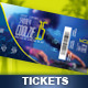 Event Ticket Template IV - GraphicRiver Item for Sale