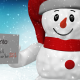 Snowman Greetings Card - VideoHive Item for Sale