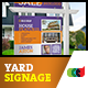 Modern Real Estate Yard Signage 10 + Riders - GraphicRiver Item for Sale