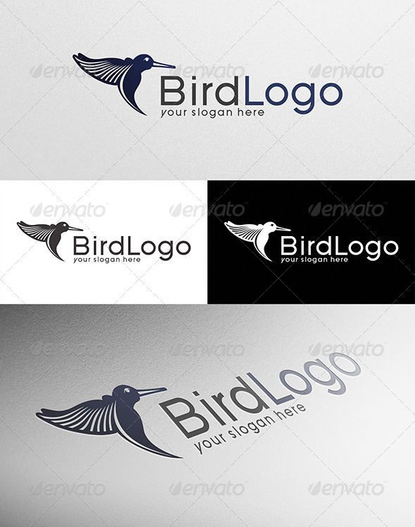 GraphicRiver Bird Logo Template 7602447