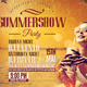 Summer Show Party Template - GraphicRiver Item for Sale