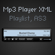 MP3 Player with playlist (xml) - ActiveDen Item for Sale