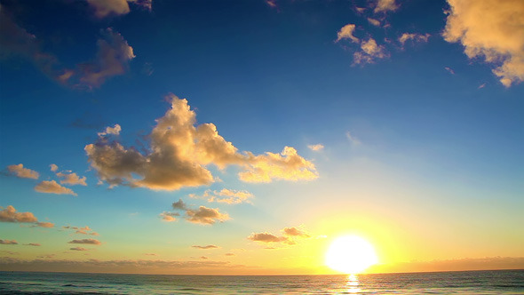 VideoHive Early Morning On The Sea 7604239