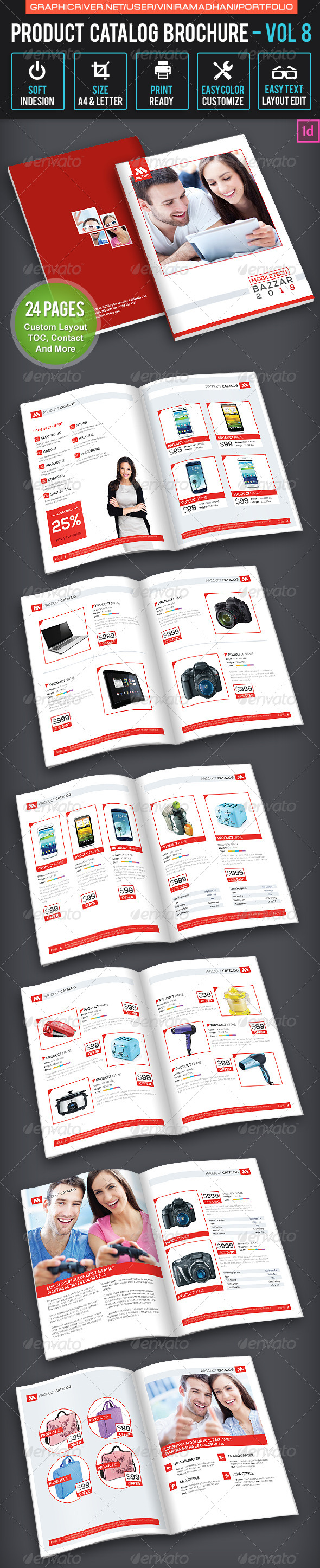 GraphicRiver Product Catalogs Brochure Volume 8 7605394