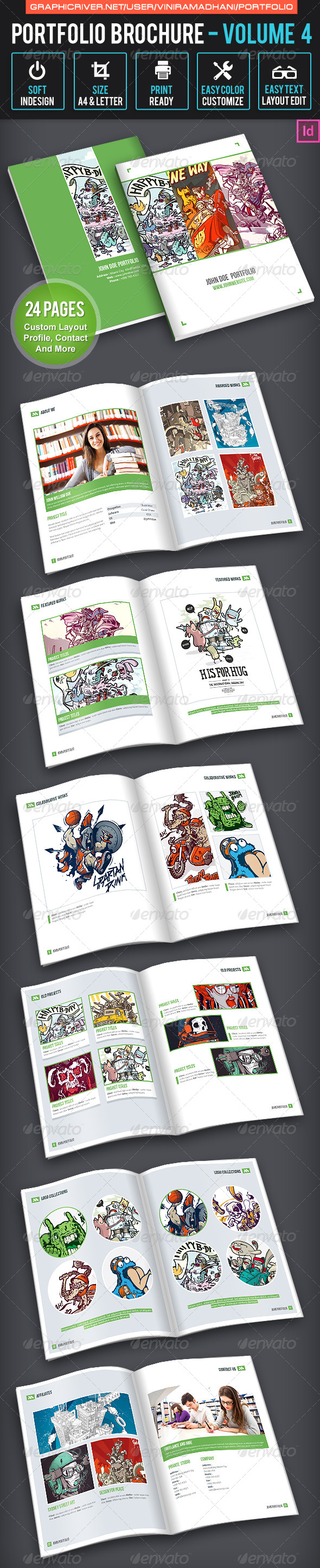 GraphicRiver Portfolio Brochure Volume 4 7605430