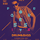Progressive Drum and Bass Poster/Flyer - GraphicRiver Item for Sale