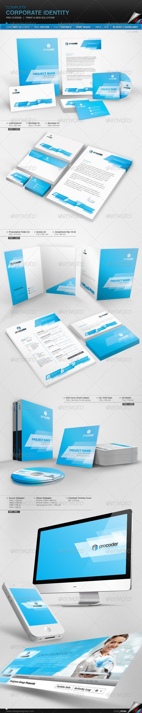 GraphicRiver Corporate Identity Pro Coders 7605705