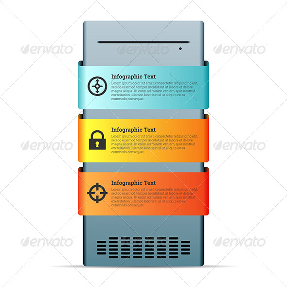 GraphicRiver Server Computer Copyspace Design Element 7606260