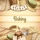 Baking Pastry Poster - GraphicRiver Item for Sale