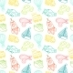 Transport Toy Seamless Pattern - GraphicRiver Item for Sale