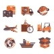 Logistic Services Icons Set - GraphicRiver Item for Sale