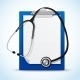Stethoscope and Notes - GraphicRiver Item for Sale
