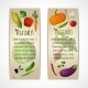 Vegetable Banners - GraphicRiver Item for Sale