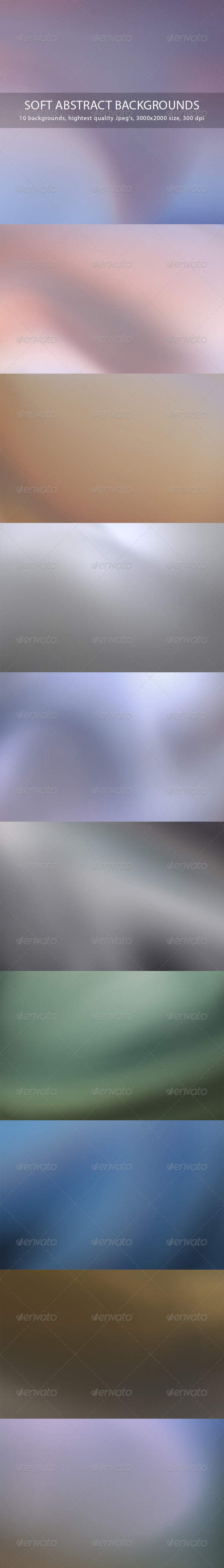 GraphicRiver Soft Abstract Backgrounds 7606971