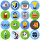 Flat Icons for Web Design - GraphicRiver Item for Sale