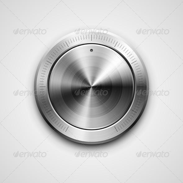 GraphicRiver Metallic Knob 7608296