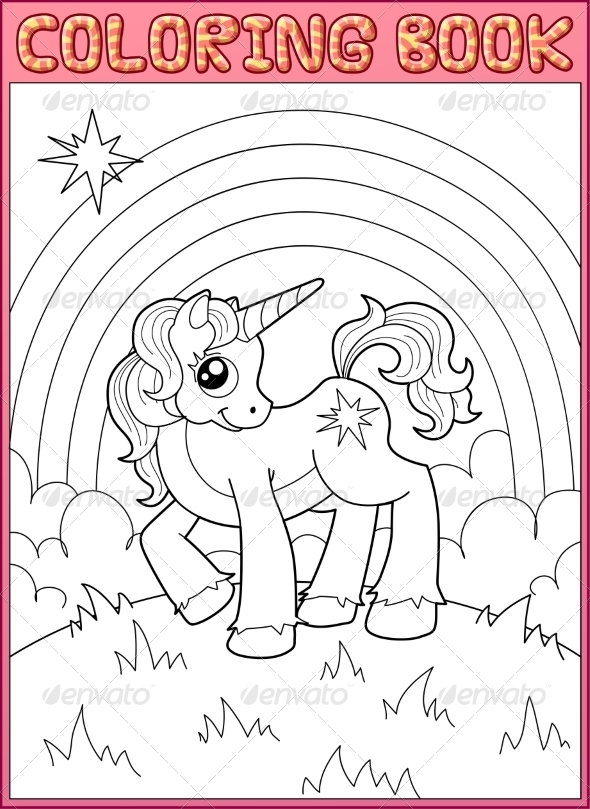 GraphicRiver Little Unicorn 7610408