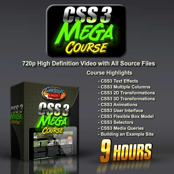 TutsPlus CSS3 Mega Course 9 Hours of Training 781412