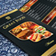 Trifold Menu Template Vol.4 - GraphicRiver Item for Sale