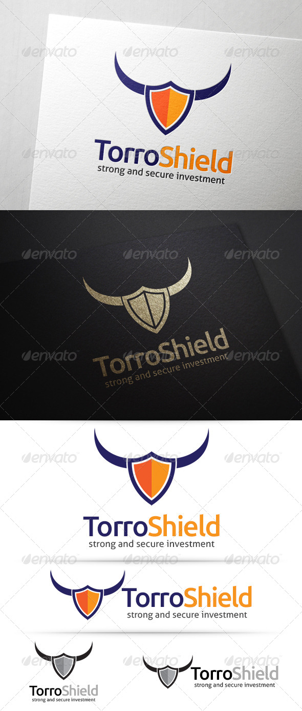 GraphicRiver Torro Shield Logo 7611731