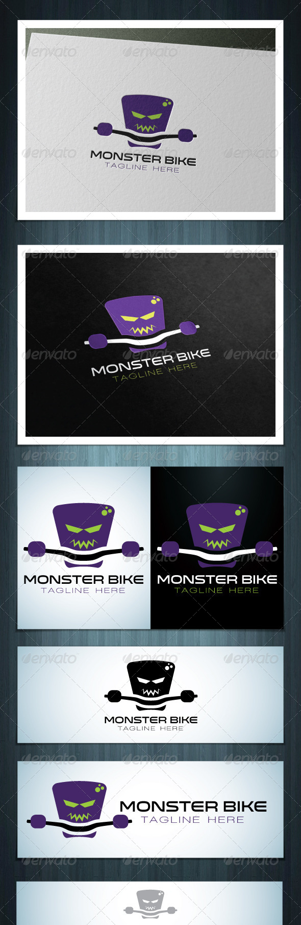 GraphicRiver Monster Bike 7612054