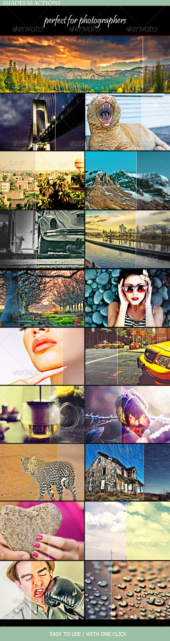 GraphicRiver Shades PS Actions 7612392