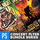Rock Concert Poster/Flyer Bundle Vol.2  - GraphicRiver Item for Sale