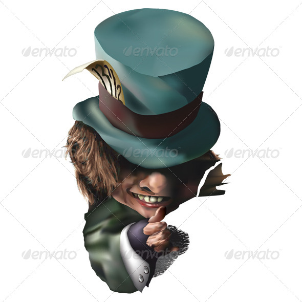 GraphicRiver Mad Hatter 7591859
