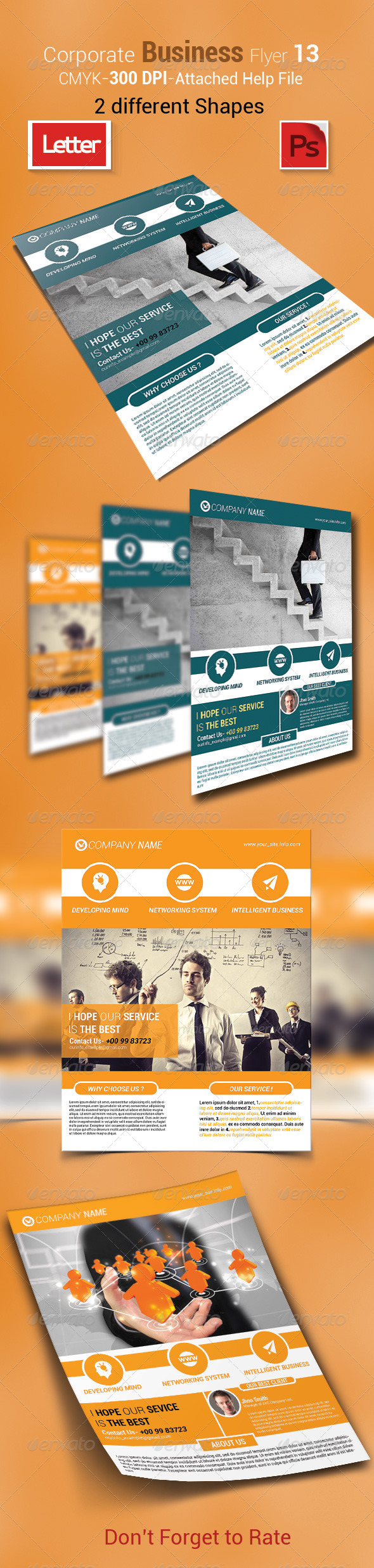 GraphicRiver Corporate Business Flyer 13 7613935