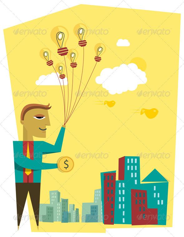GraphicRiver Selling Business Idea 7614914