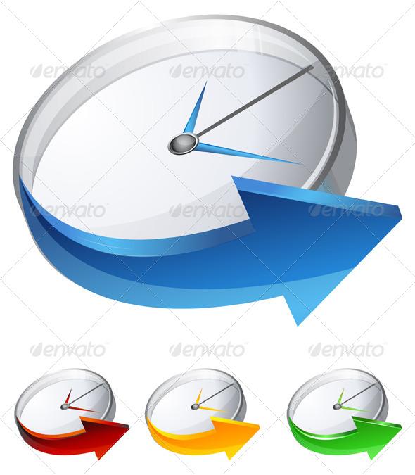 GraphicRiver Timer Icon 7614931