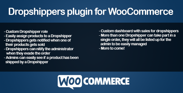 CodeCanyon WooCommerce Dropshippers 7615263