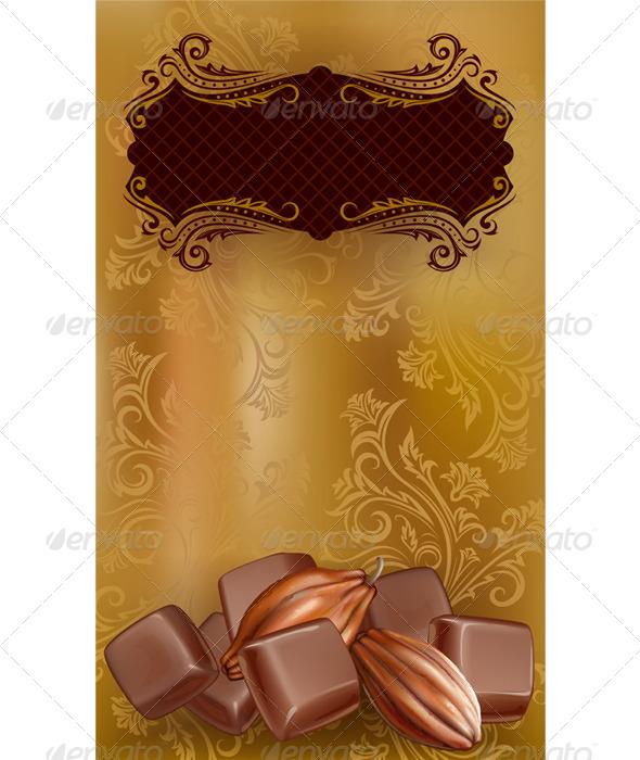 GraphicRiver Classic Chocolate Label 7616244