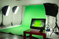 Film Studio with Green Screen - PhotoDune Item for Sale