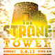 The Strong Tower: Church Flyer Template - GraphicRiver Item for Sale