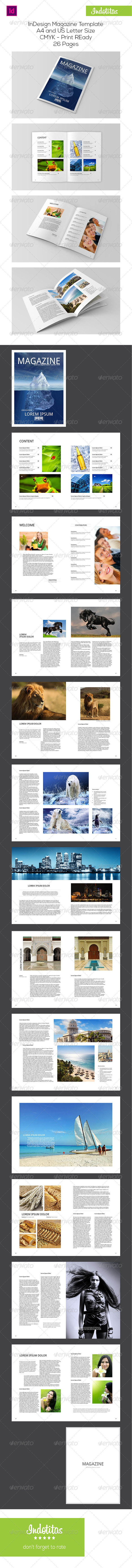 GraphicRiver InDesign Magazine Template 7620192
