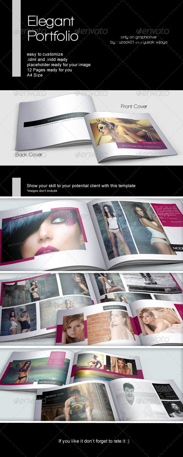 GraphicRiver Elegant Portfolio Indesign 7620194