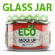 Glass Jar Mockup - GraphicRiver Item for Sale